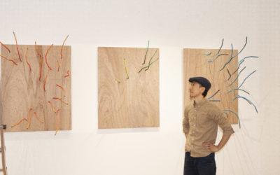 Hanging Art – Jun Murakoshi & Kyoji Nagatani for Almach Art with Arakawagrip