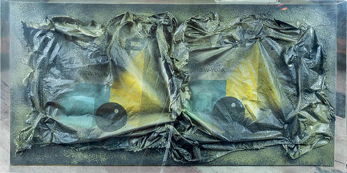 Racconti-Dapy-Paris-New-York-plastica-tecnica-mista-50-x-100-cm-1988